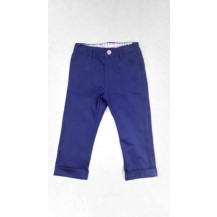 Pantalón largo vestir color marino