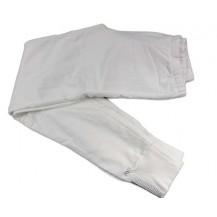 Pantalón largo punto liso crema niña