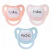 Pack 3 chupetes baby personalizados