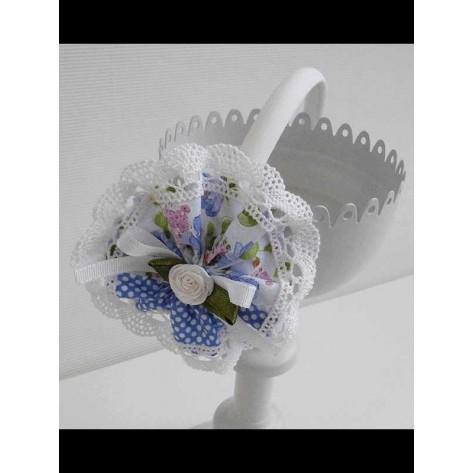 Diadema flor fam Noe Azul