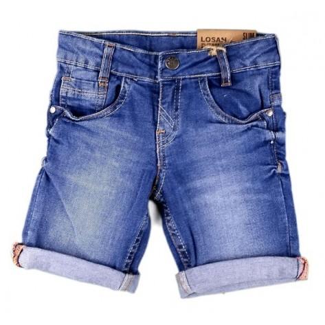 Pantalón corto denim niño