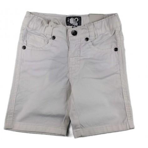 Pantalón vaquero corto blanco niño
