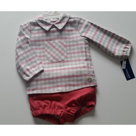 Conjunto bombacho y blusa colección Lurex