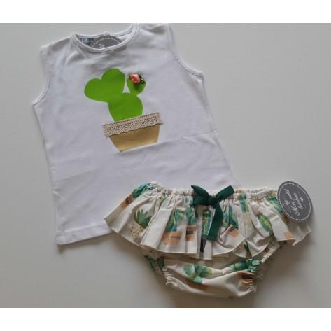 Conjunto braguita y camiseta captus