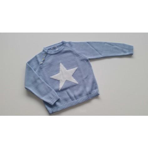Jersey estrella celeste