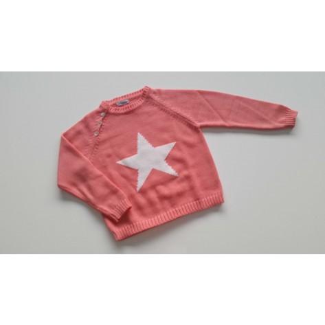 Jersey estrella chicle