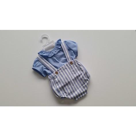 Ranita niño primavera + blusa