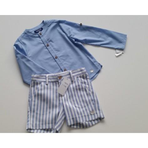 Conjunto niño bermuda y camisa colección primavera