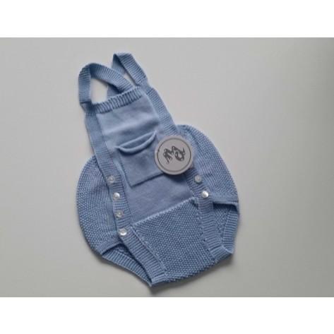 Peto bolsillos azul medio