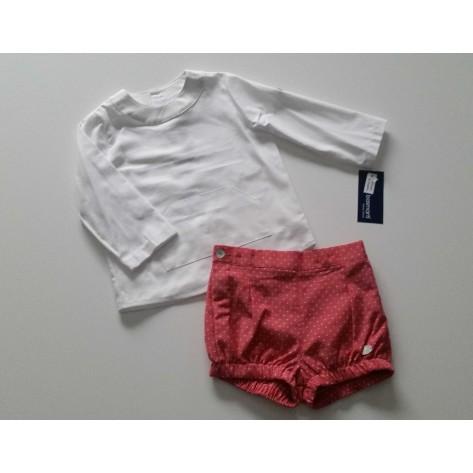 Conjunto niño bombacho y blusa colección Sandy
