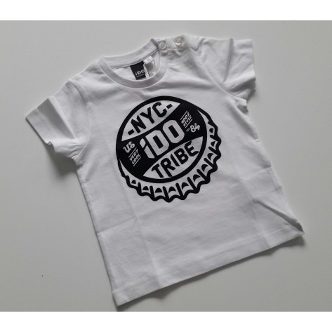 Camiseta manga corta tribe blanca
