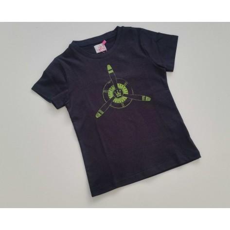 Camiseta marino helice fluor