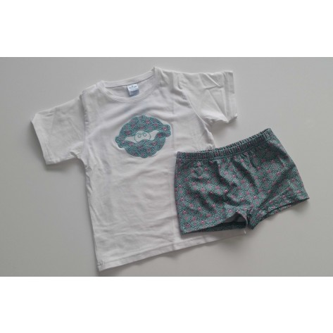 Conjunto camiseta y boxer alhambra