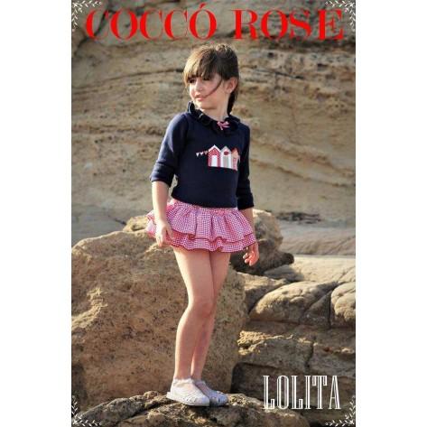 Conjunto braga falda + jersey casetas colección Lolita