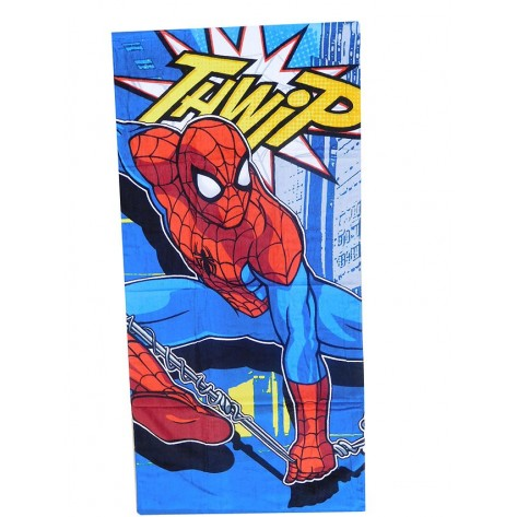 Toalla baño spiderman