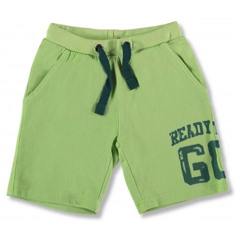 Pantalón algodón verde limón