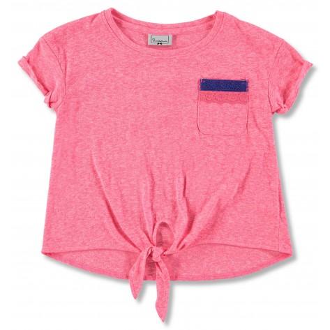 """Camiseta m/c rosa fosforita """"Delhi"""""""