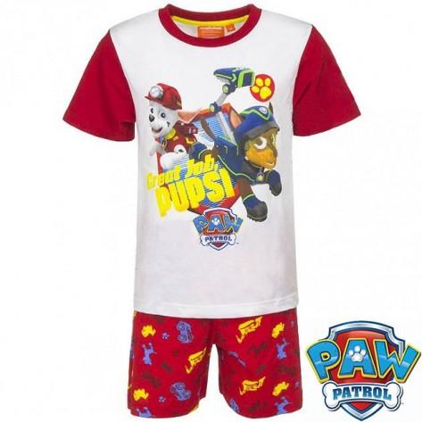 Pijama patrulla canina rojo