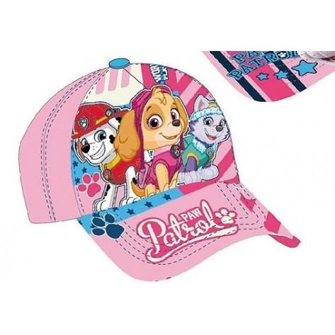 Gorra patrulla canina niña rosa claro