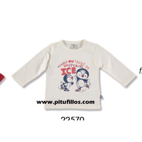 Camiseta blanca niño colección Arctic