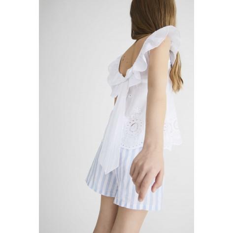 Blusa saint remy blanca