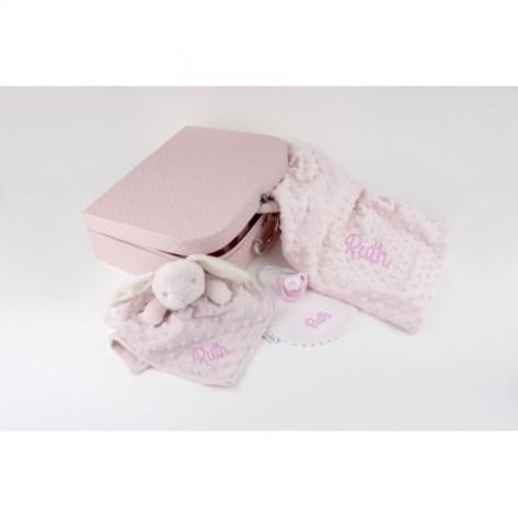 Maletin premium rosa personalizado