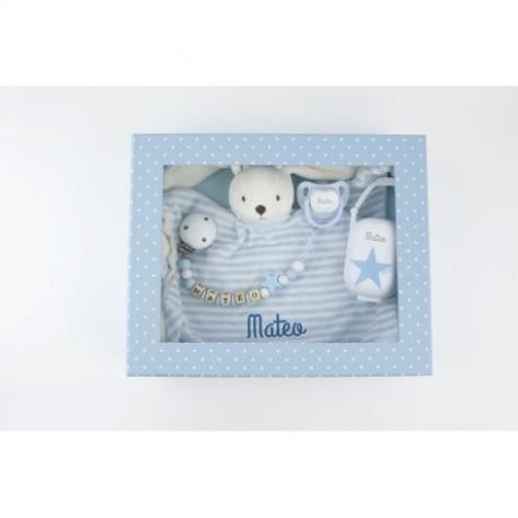 Cajita Baby Born Deluxe Azul Personalizada