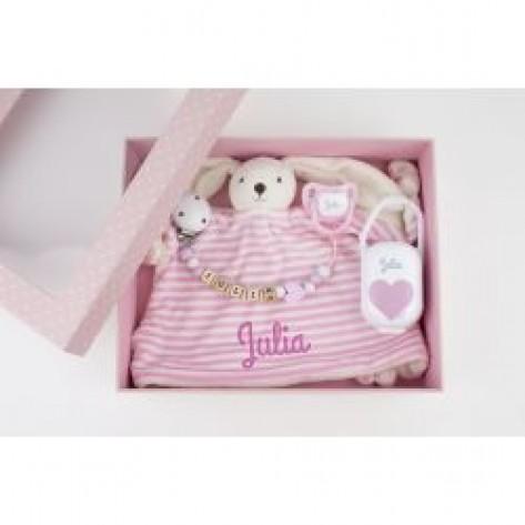 Cajita Baby Born Deluxe Rosa Personalizada
