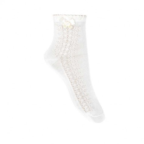 Calcetines tobilleros calado lateral y lazo 303 cava