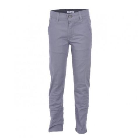 Pantalón largo niño sarga gris