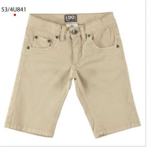 Pantalón vaquero corto beige
