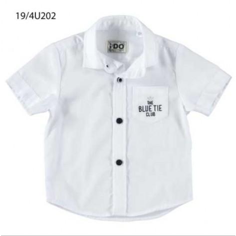 Camisa manga corta blanca The Blue