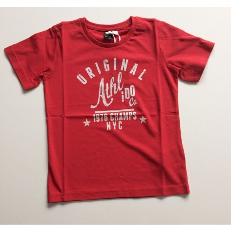 "Camiseta manga corta roja ""original"""