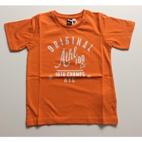 "Camiseta manga corta naranja ""original"""