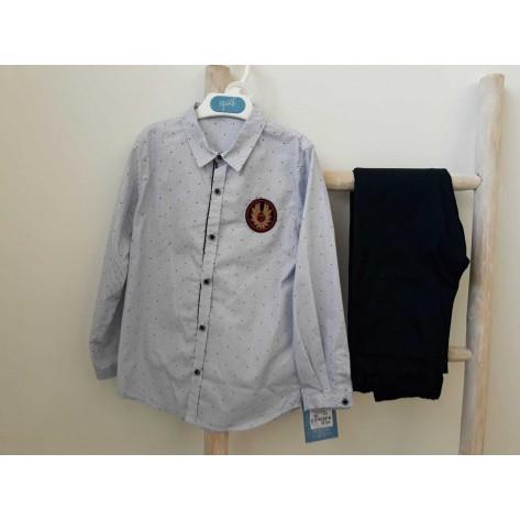 Conjunto pantalón y camisa Dickens