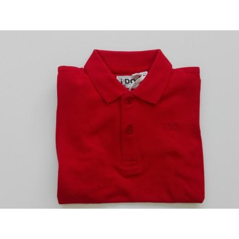 Polo manga corta rojo Ido