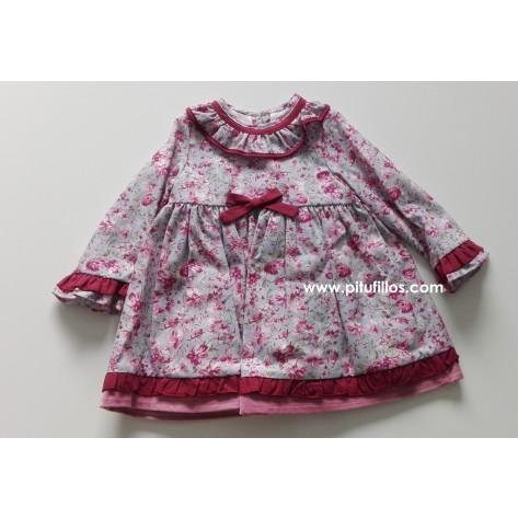Vestido bebé colección strawberry