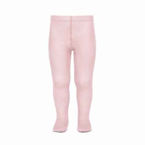 Leotardo liso primavera rosa 500