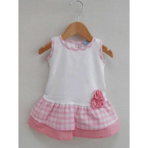Vestido niña colección Ines rosa