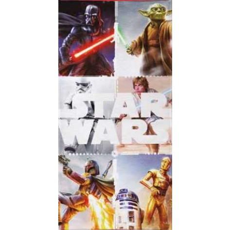 Toalla baño star wars