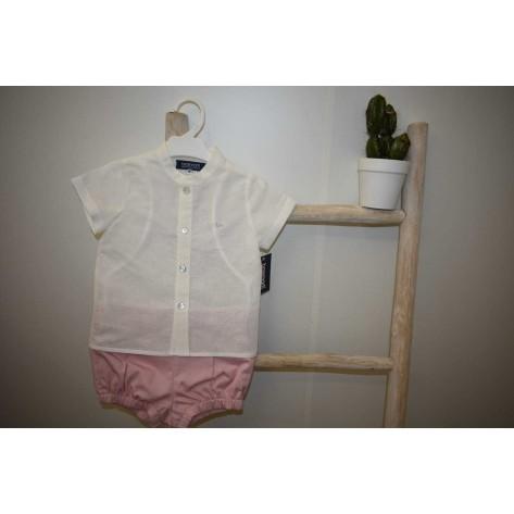 Conjunto bombacho + blusa florencia