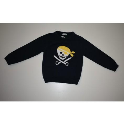 Jersey pirata marino