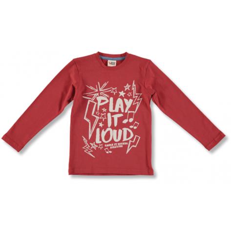 Camiseta roja play