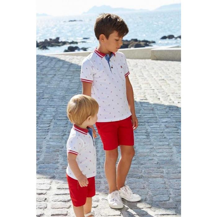 d257d3166 Pantalón corto rojo niño vestir - Nelblu
