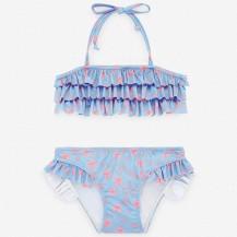 Bikini  azul francia estrellas