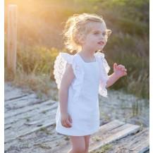 Vestido puntilla blanca