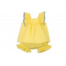 Conjunto culote y blusa yellow amarillo