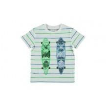 Camiseta board verde y azul