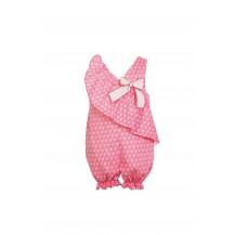 Mono corto palmeras rosa chicle