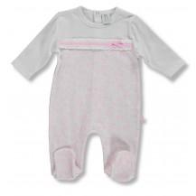 Pijama pelele primavera largo arboles rosa